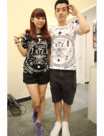 Kaos Couple Korea KC102