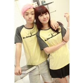 Kaos Couple Menara Eiffel Kc103