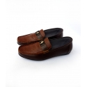 Mr darwis semi formal loafers gold horse mr007