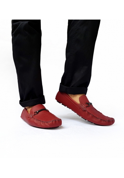 Mr darwis braven red series loafers pria mr016