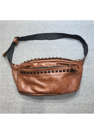 Waistbag kulit import ts693